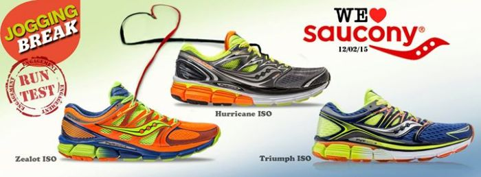 Jogging break we love saucony