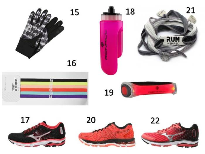 Liste Shopping Octobre - running 3