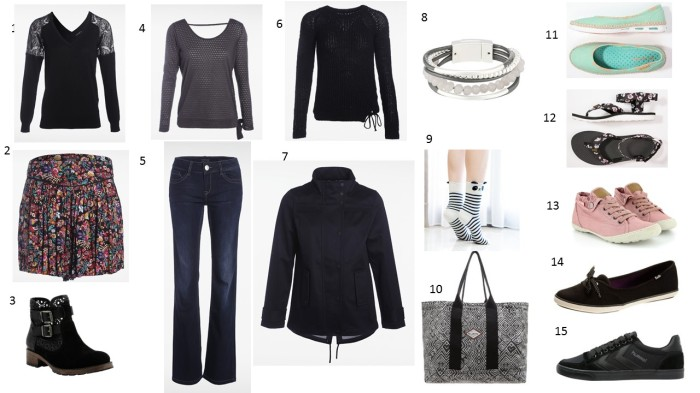 Liste shopping de Mars - Lifestyle