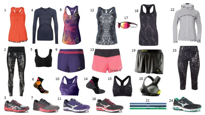 Liste shopping de Mars- run