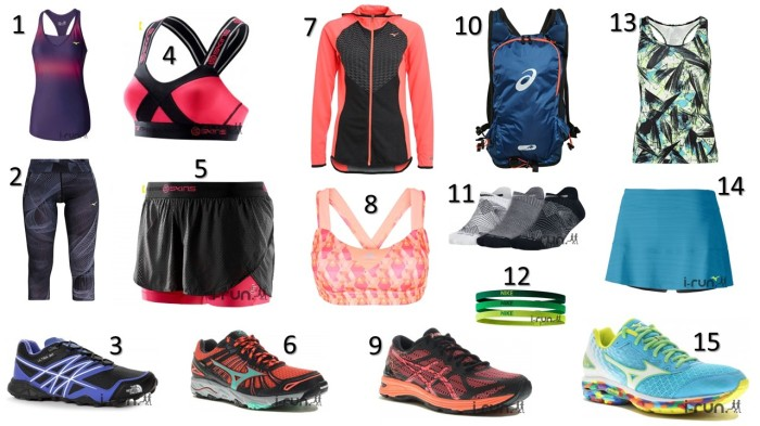 Liste Shopping Septembre running